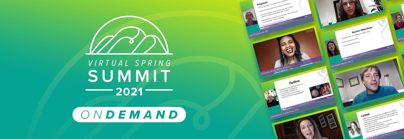 2021 RNS Virtual Spring Summit OnDemand
