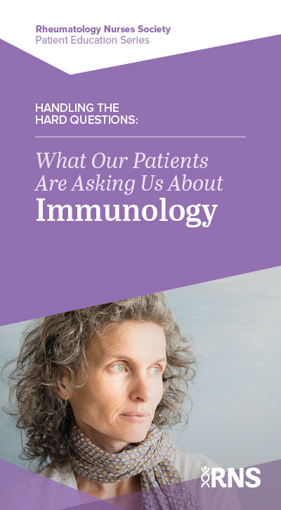Handling the Hard Questions: What our Patients are Askign Us About Immunology