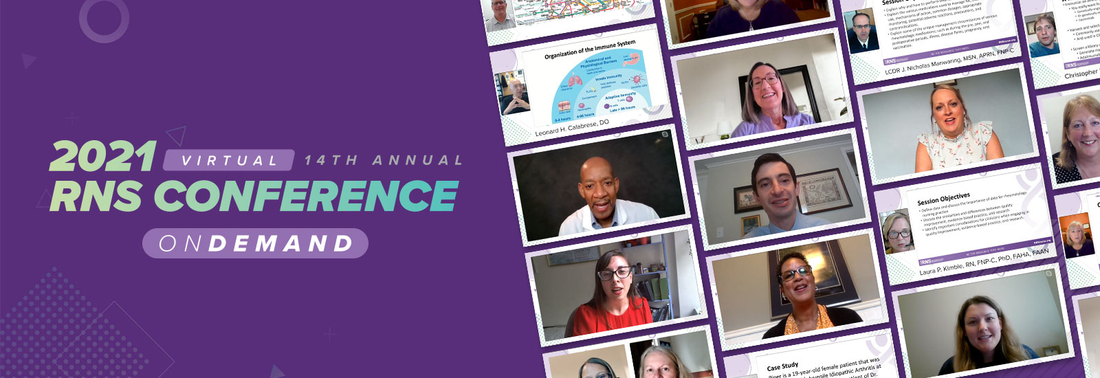 2021 RNS Conference OnDemand